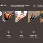 Legal services website