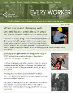 Workplace Health and Safety Newsletter